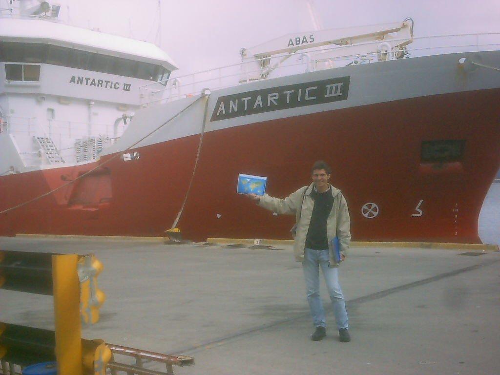 44. Bateau-stop pour Antarctique