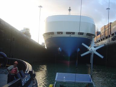 80. Traversée du canal de Panama