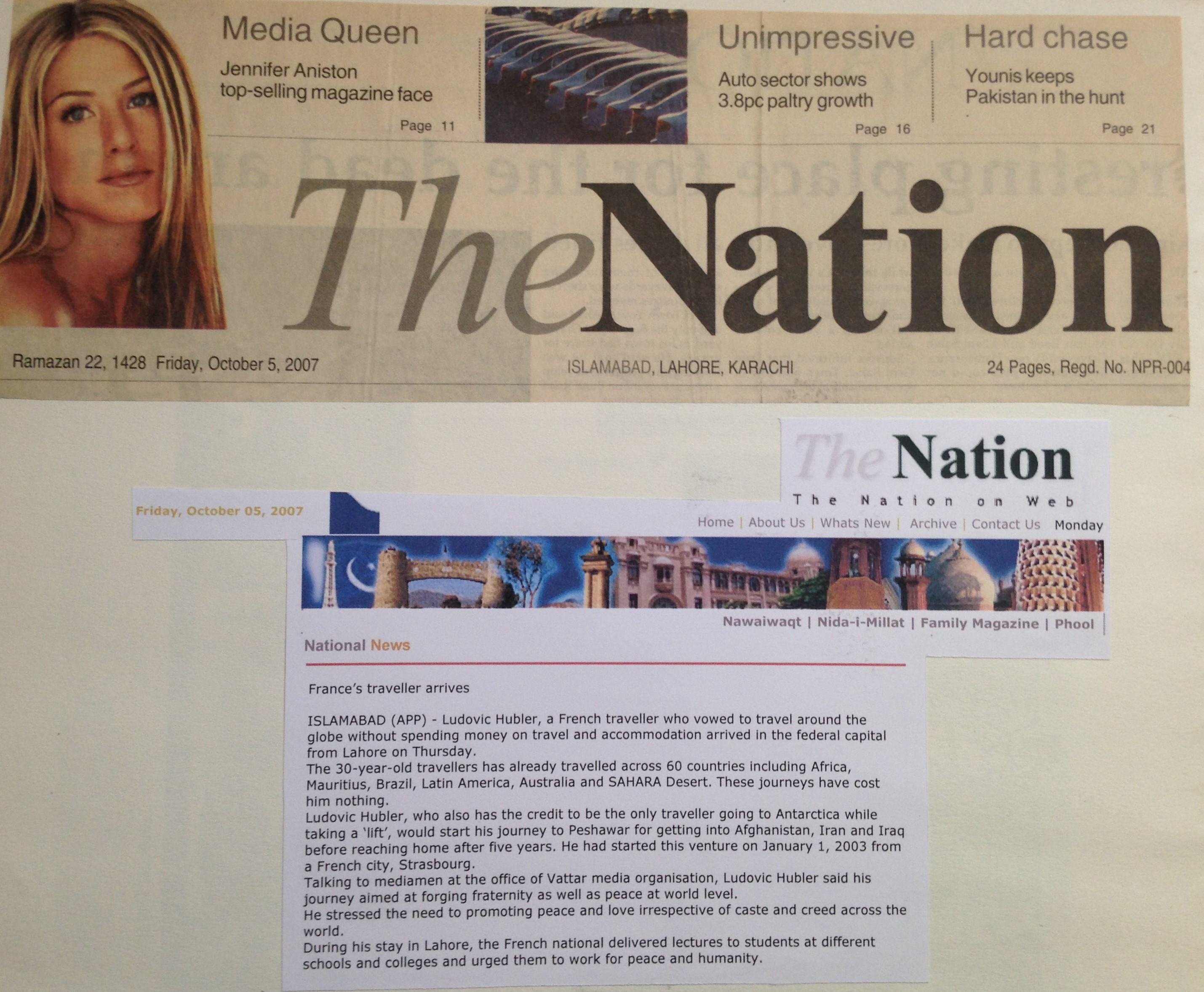 Pakistan - Islamabad - The Nation - 2007
