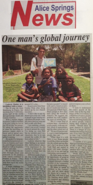 Australie - Alice Springs News - 2006