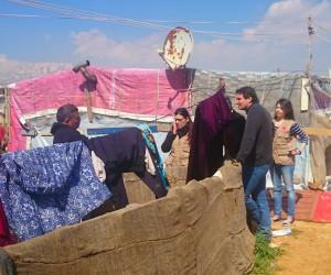 Camps de réfugiés Syrien, Liban, 2014