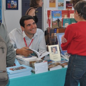 Promotion du livre à St Malo
