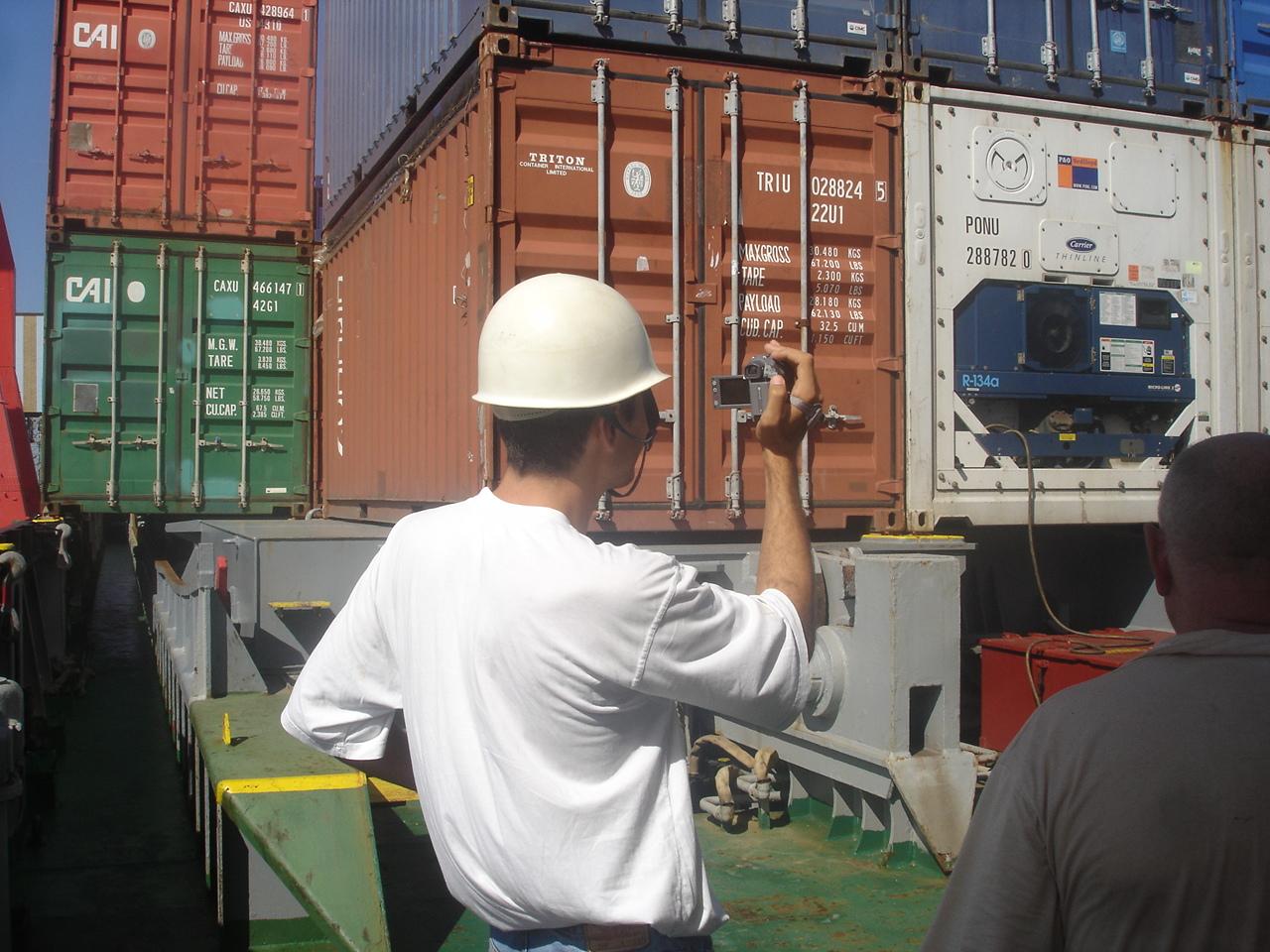 traversée Nouvelle-Zélande – Australie sur le cargo