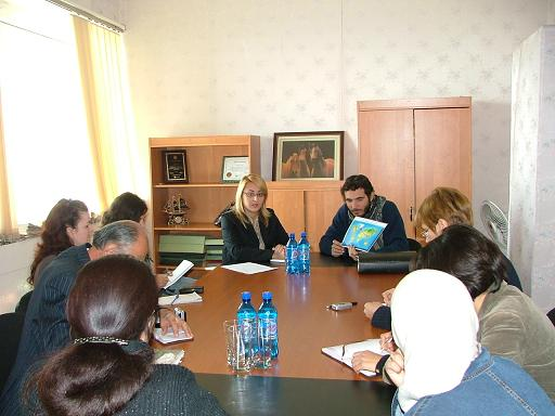 conférence de presse au Tadjikistan