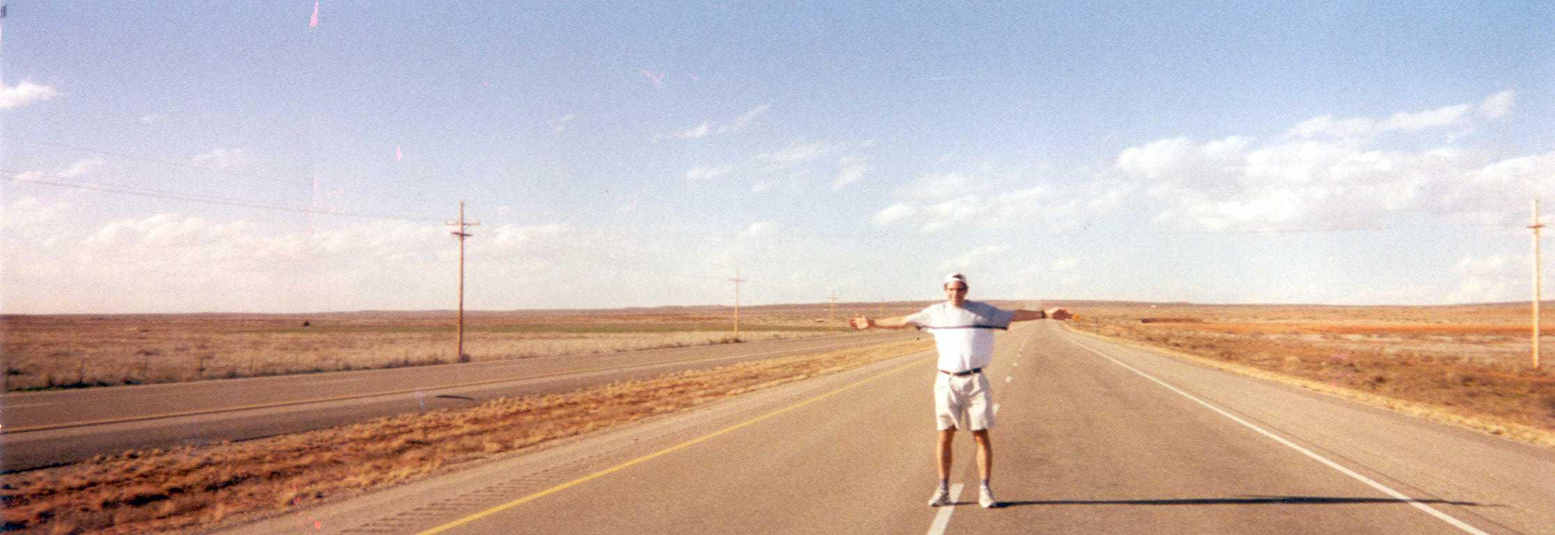 Dans le désert du Névada
