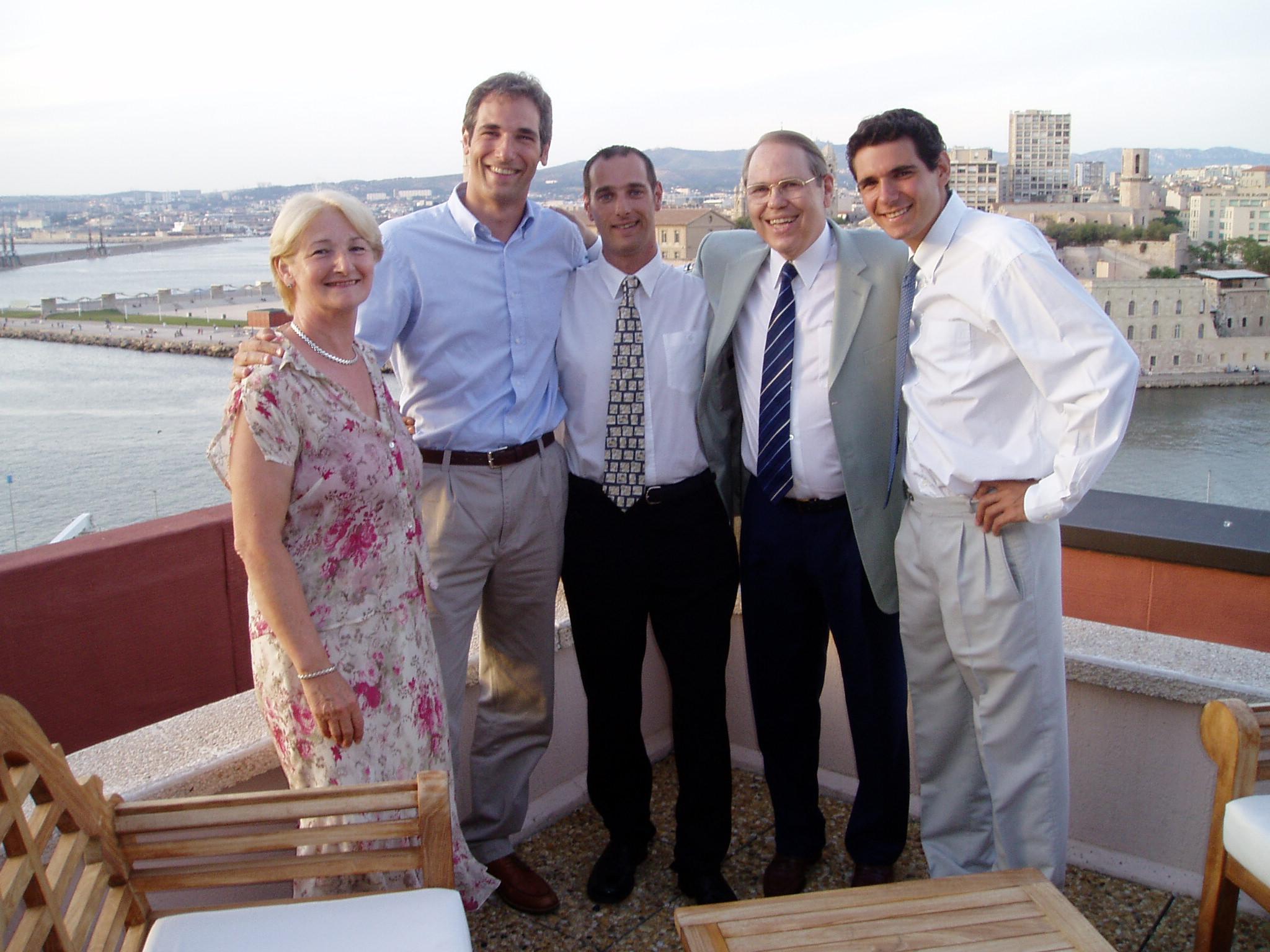 En famille à Marseille
