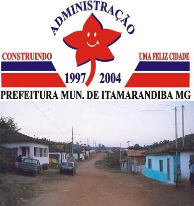 une rue d'Itamarandiba