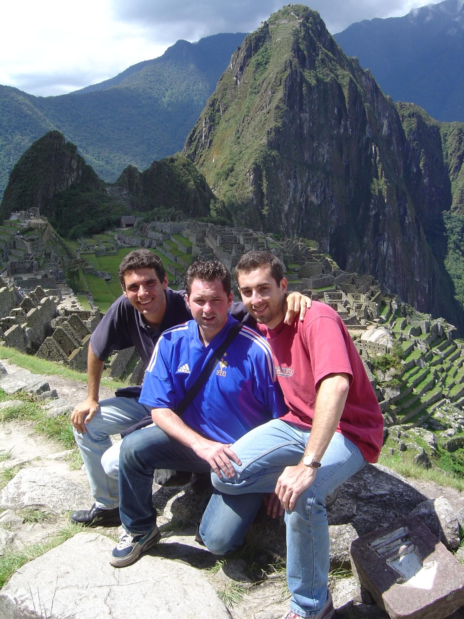 Réunis au Machu-Picchu