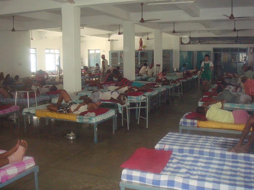 Premdam, l'un des 7 centres Mère Teresa à Calcutta