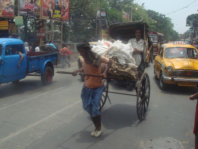rickshaw humain