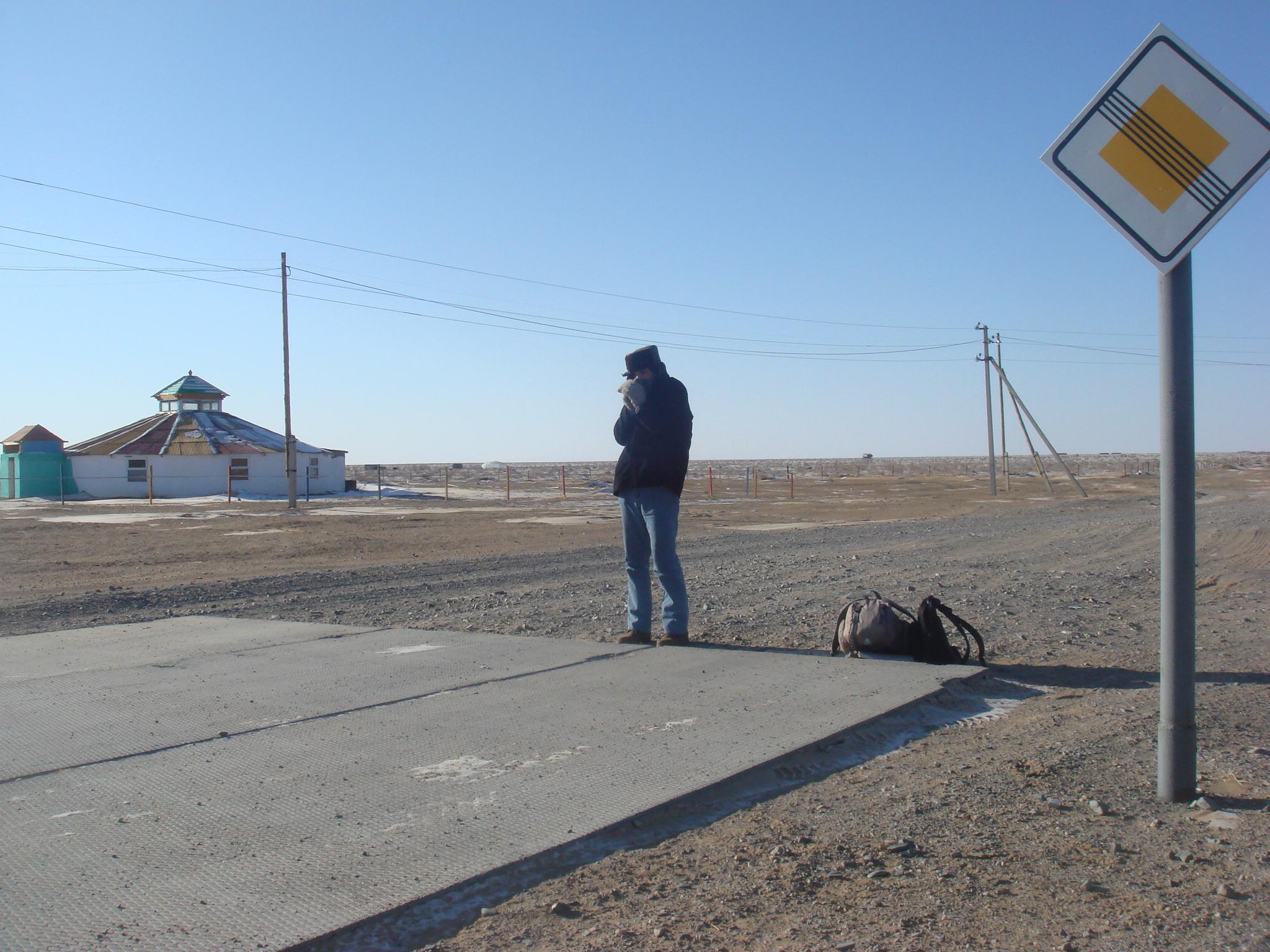 En Mogolie, quand la température extérieure était de -25 degrés